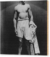 Jack Dempsey, Circa 1920s Wood Print