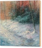Jack Frost Wood Print