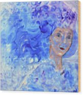 Jack Frost's Girl Wood Print