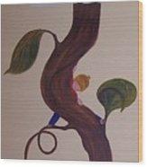 Jack In The Beanstalk Wood Print