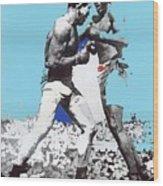 Jack Johnson Jim Jeffries Bout July 4th Reno Nevada 1910-2008 Wood Print