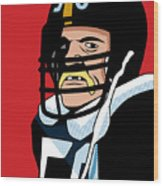 Jack Lambert Wood Print by Ron Magnes