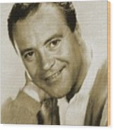 Jack Lemmon, Actor Wood Print