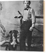 Jack London (1876-1916) Wood Print by Granger