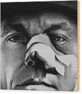 Jack Nicholson In Chinatown Wood Print