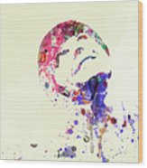 Jack Nicholson Wood Print by Naxart Studio