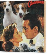 Jack Russell Terrier Art Canvas Print - Casablanca Movie Poster Wood Print
