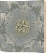 Jacket Flowers Wood Print