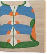 Jacket Wood Print