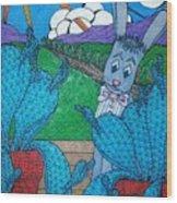 Jackrabbit Stu Wood Print