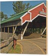 Jackson Bridge Wood Print