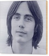 Jackson Browne, Music Legend Wood Print