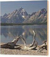 Jackson Lake 1 Wood Print