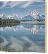 Jackson Lake 80 Wood Print
