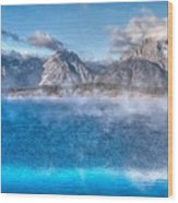 Jackson Lake - Teton National Park Wood Print
