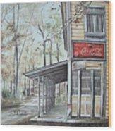 Jackson Springs Wood Print