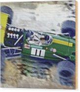 Jacky Ickx - Brabham Bt26 Wood Print