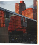 Jacob Javits Reflections Wood Print