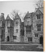 Jacobean Wing At Donegal Castle Ireland Wood Print