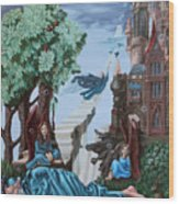 Jacob's Ladder Wood Print