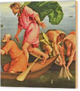 Jacopo Bassano Fishes Miracle Wood Print