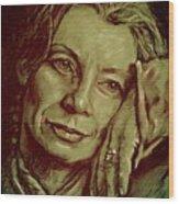 Jacqueline Wood Print