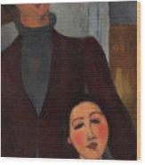 Jacques And Berthe Lipchitz Wood Print