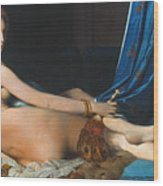J.a.d. Ingres: Odalisque Wood Print by Granger