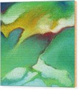 Jade Ice Wood Print
