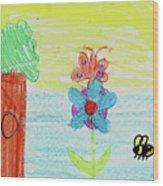 Jadei L Wood Print