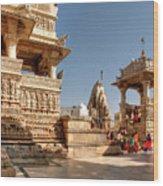 Jagdish Hindu Temple, Udaipur Wood Print