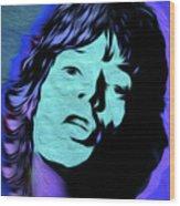 Jagger Blue,nixo Wood Print
