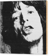 Jagger Wood Print