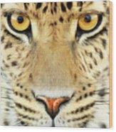 Jaguar Wood Print by Bill Fleming