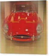 Jaguar E-type 1960s Wood Print