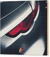 Jaguar F Type S Wood Print