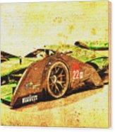 Jaguar Le Mans 2015, Race Car, Fast Car, Gift For Men Wood Print