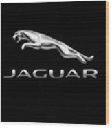 Jaguar Logo Wood Print