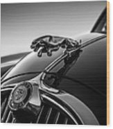 Jaguar Mascot Wood Print