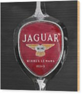 Jaguar Medallion Wood Print