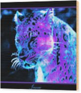 Jaguar  Wood Print by Nick Gustafson