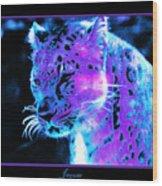 Jaguar  Wood Print by Nick Gustafson