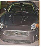 Jaguar Xk No 1 Wood Print