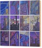 Jail Alley, Fredericksburg, Va Wood Print