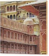 Jaipur City Palace Wood Print