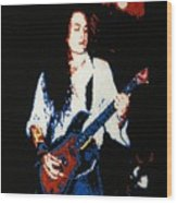 Jake E. Lee Wood Print