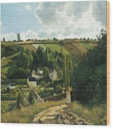 Jalais Hill At Pontoise Wood Print