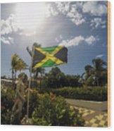 Jamaica Day Wood Print