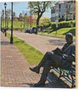 James Bradley Statue 4211 Wood Print