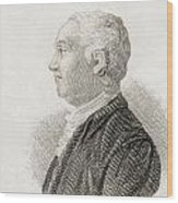 James Bruce, 1730 To 1794. Scottish Wood Print